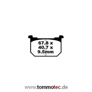 Bremsbeläge EBC FA 68 FA68 FA 068 FA068 Standard Bremsklötze