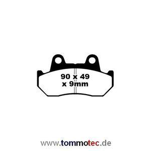 Bremsbeläge EBC FA 69/2 FA69/2 FA 069/2 FA069/2 Bremsklötze Honda vorne