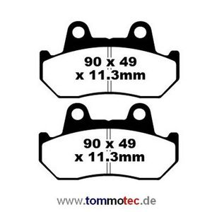 Bremsbeläge EBC FA 69/3 FA69/3 FA 069/3 FA069/3 Standard Bremsklötze