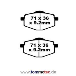 Bremsbeläge EBC FA 101 FA 101 TT Standard Bremsklötze