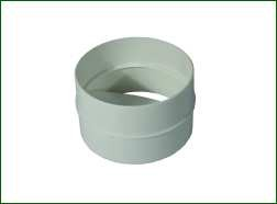 Ventilution Rückschlagklappe, Kunststoff, für ø 100 mm, L = 62 mm