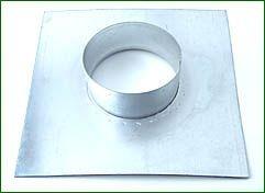 Ventilution Wandflansch, Metall, für ø 125 mm