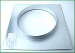 Ventilution Wandflansch, Metall, für ø 315 mm