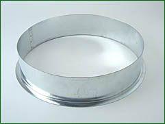 Anschluss, Metall, für ø 250 mm