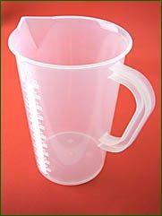 Messbecher, 1000 ml, 10 ml Teilung