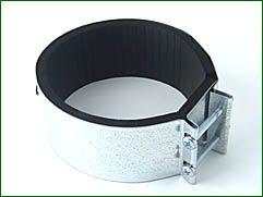 Verbindungsmanschette, Metall, für ø 125 mm