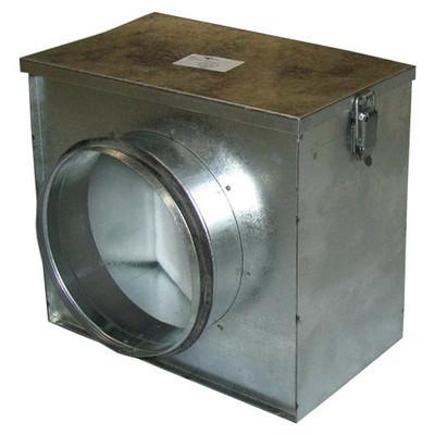 Ventilution Luftfilter-Box, inkl. Grobstaubfilter, ø 160 mm