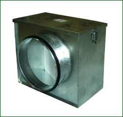 Ventilution Luftfilter-Box, inkl. Grobstaubfilter, ø 200 mm
