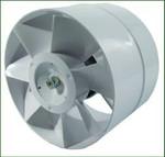 Ventilution Axiallüfter, 298 m³/h, für 150 mm Rohr