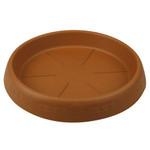 Untersetzer für runde Töpfe, ø 25 cm Randhöhe 5 cm, terracotta
