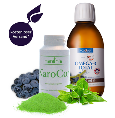 NaroCor + Omega-3 Total Öl