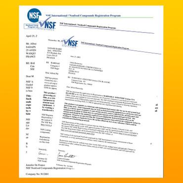 BARDAHL Graisse CFA Blanche 2 Spezialfett für die Nahrungsmittelindustrie - 10kg-Eimer – Bild 3