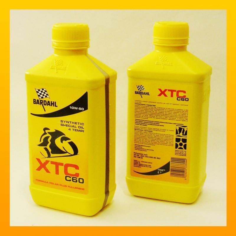 BARDAHL XTC C60 moto 10W-40  - 1 Liter-Flasche