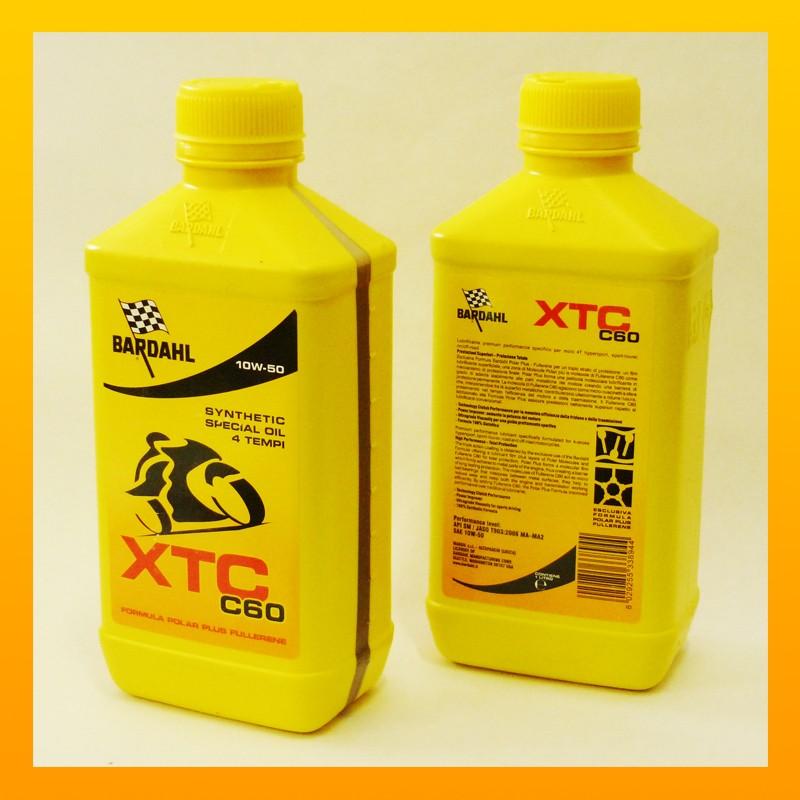 BARDAHL XTC C60 moto 10w-50  - 1 Liter-Flasche