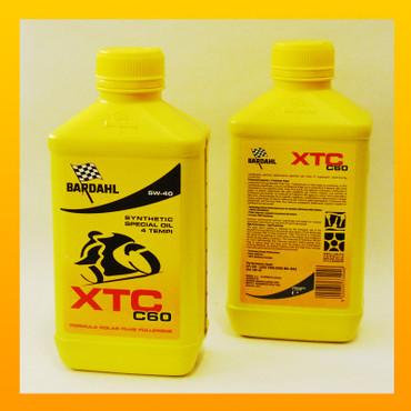 BARDAHL XTC C60 moto 5W-40 - 1 Liter – Bild 1