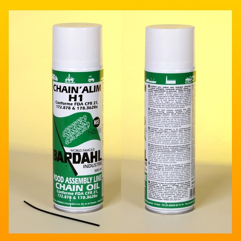 BARDAHL CHAIN' ALIM H1 Kettenspray für die Nahrungsmittelindustrie - 500 ml