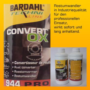 BARDAHL Convert Ox Rostumwandler - 1 Liter-Flasche – Bild 2