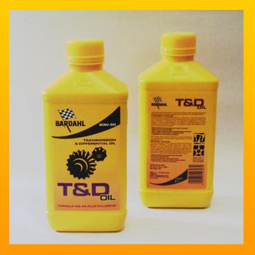 BARDAHL T&D C60 Gear Oil 80W-90 Getriebeöl - 1 Liter-Flasche – Bild 1