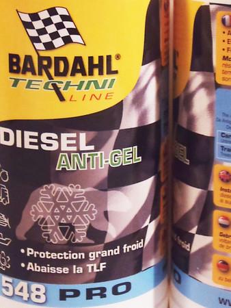 BARDAHL DIESEL ANTI-GEL Fließverbesserer 1 Liter – Bild 1