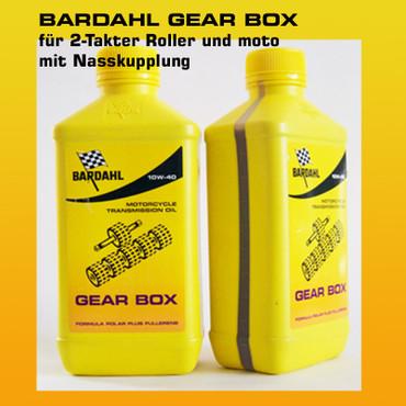 BARDAHL Gear Box 10W-40 Spezialöl für Rollergetriebe - 1 Liter-Flasche – Bild 1