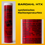 BARDAHL HTX Hochtemperaturfett - Kartusche à 400 g