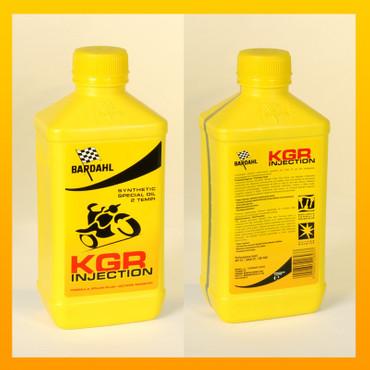 BARDAHL KGR INJECTION OIL für 2 Takter - 1 Liter-Flasche