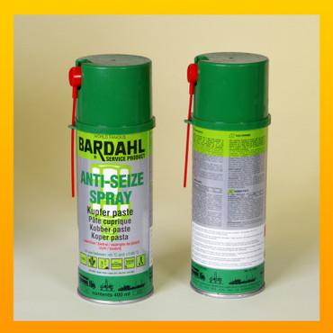 BARDAHL ANTI SEIZE Kupferpaste - Schmier- und Montagepaste 400 ml-Spraydose