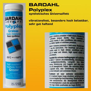 BARDAHL Polyplex synthetisches Universalfett - Kartusche 400 g – Bild 6