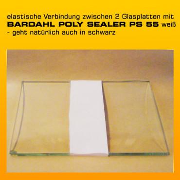 BARDAHL POLY SEALER PS 600 weiß - Einkomponentenkleber und Dichtmasse - 290 ml-Kartusche – Bild 2