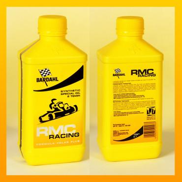 BARDAHL RMC RACING OIL für 2 Takter in Rennkarts - 1 Liter-Flasche – Bild 1