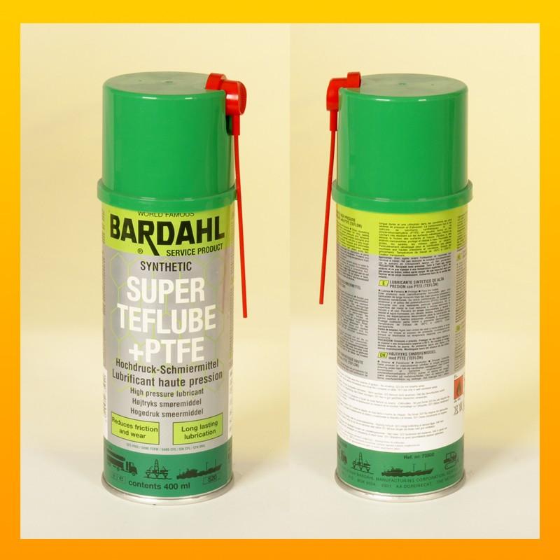 BARDAHL SUPER TF LUBE - PTFE EP-Lubricant- 400 ml Spraydose