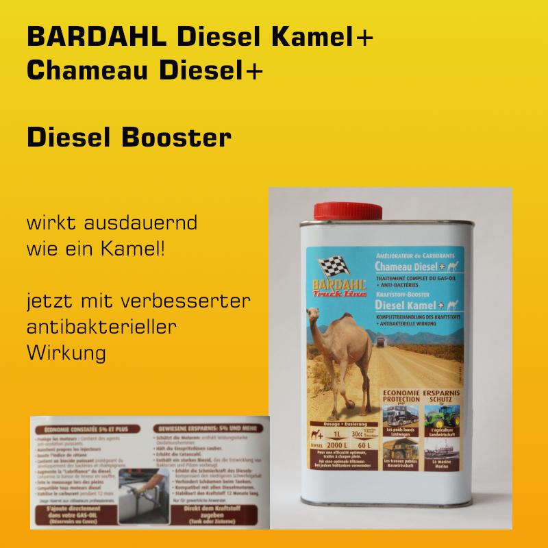 BARDAHL Diesel Kamel Plus - Komplettbehandlung - 1 Liter