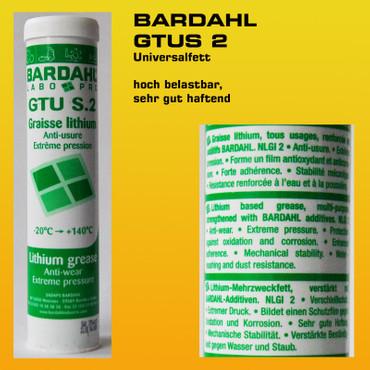BARDAHL GTUS 2 Universalfett - 400 g Kartusche – Bild 1