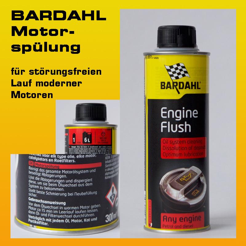 BARDAHL Motorspülung - 300ml-Flasche