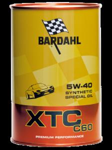 BARDAHL XTC C60 Motor Oil 5W-40 (Auto) - 1 Liter-Dose