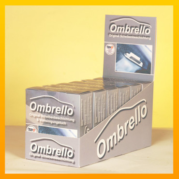 Ombrello-Kit mit Vorreinigungstuch - 6er Display
