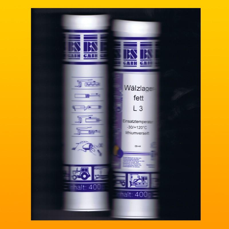 Wälzlagerfett L3 - 400 g Kartusche