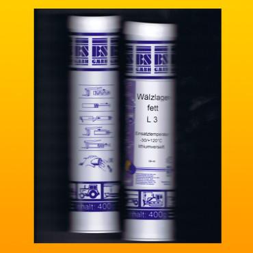 Wälzlagerfett L3 - 400 g Kartusche – Bild 1