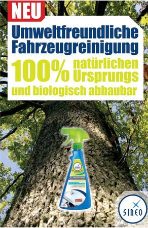 SINEO SCHEIBENreiniger ohne Wasser auf Naturbasis, bio-abbaubar - 500 ml – Bild 1