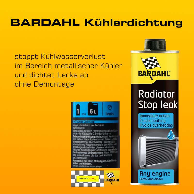 BARDAHL Kühlerdichtung - 300 ml-Flasche