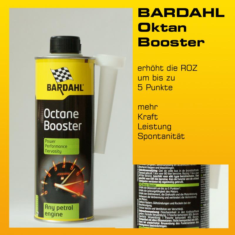[Paket] Doppelpack: BARDAHL Oktan Booster - 2 x 500 ml-Dose