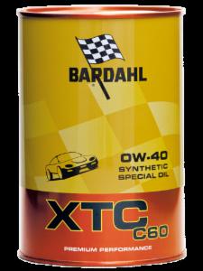 BARDAHL XTC C60 Motor Oil 0W-40 (Auto)  - 1 Liter-Dose – Bild 1