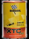 BARDAHL XTC C60 Motor Oil 0W-40 (Auto)  - 1 Liter-Dose 001