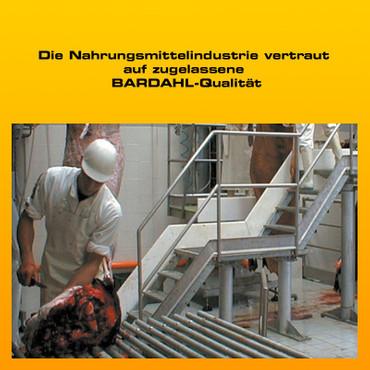 BARDAHL Graisse CFA 3H  Spezialfett für die Nahrungsmittelindustrie, farblos - 400 g Kartusche – Bild 3