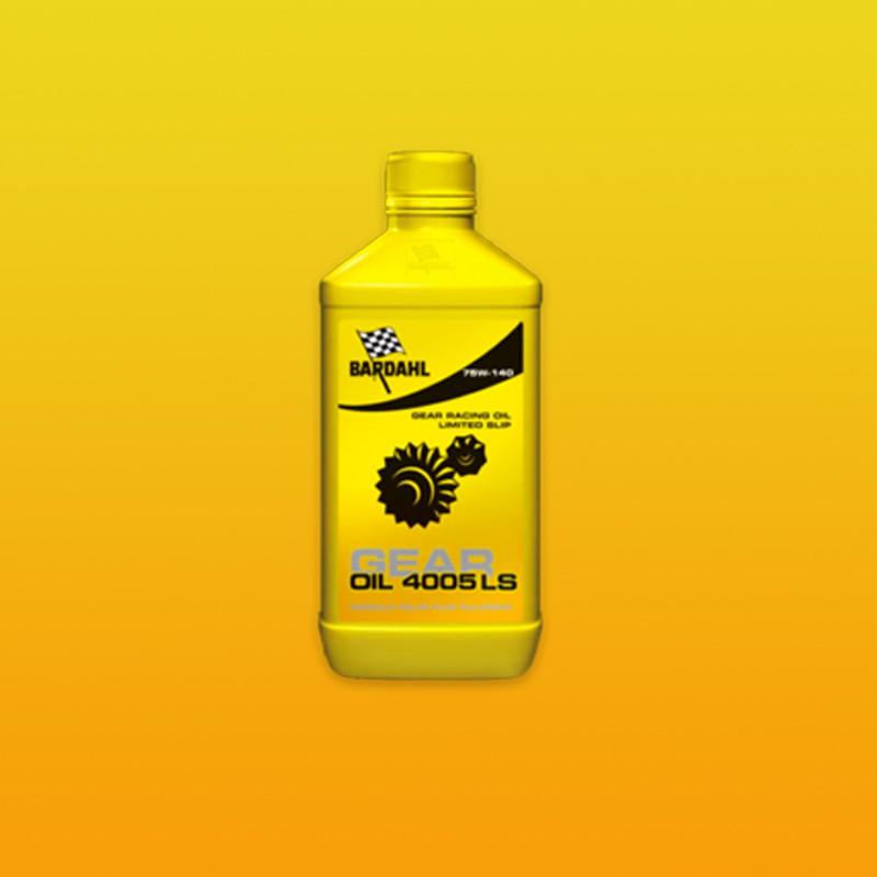 BARDAHL GEAR OIL 4005 LS 75W-140 Getriebeöl für Sperrdifferenziale - 1 Liter-Flasche