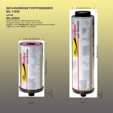 BARDAHL POLY BIO 2 bio-abbaubares Mehrzweckfett el. Schmierstoffgeber SL125