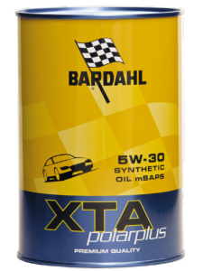 [Paket] Fünferpack: BARDAHL XTA polarplus SYNTHETIC SPECIAL Oil 5W-30 mSAPS - 5x1 Liter-Dose