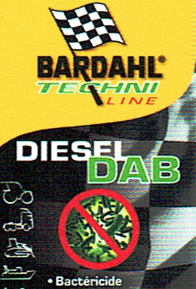 BARDAHL DAB Diesel Anti-Bacteries - 1 Liter Flasche