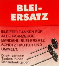BARDAHL Bleiersatz -  Dosierflasche à 250 ml