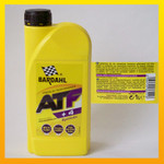 "BARDAHL ATF +4 Synthetic ""Multivehicle"" -  1 Liter-Flasche 001"